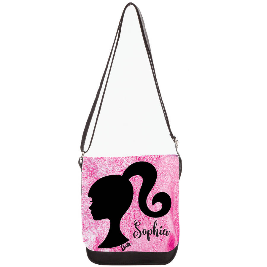 Personalized Barbie Silhouette Purse