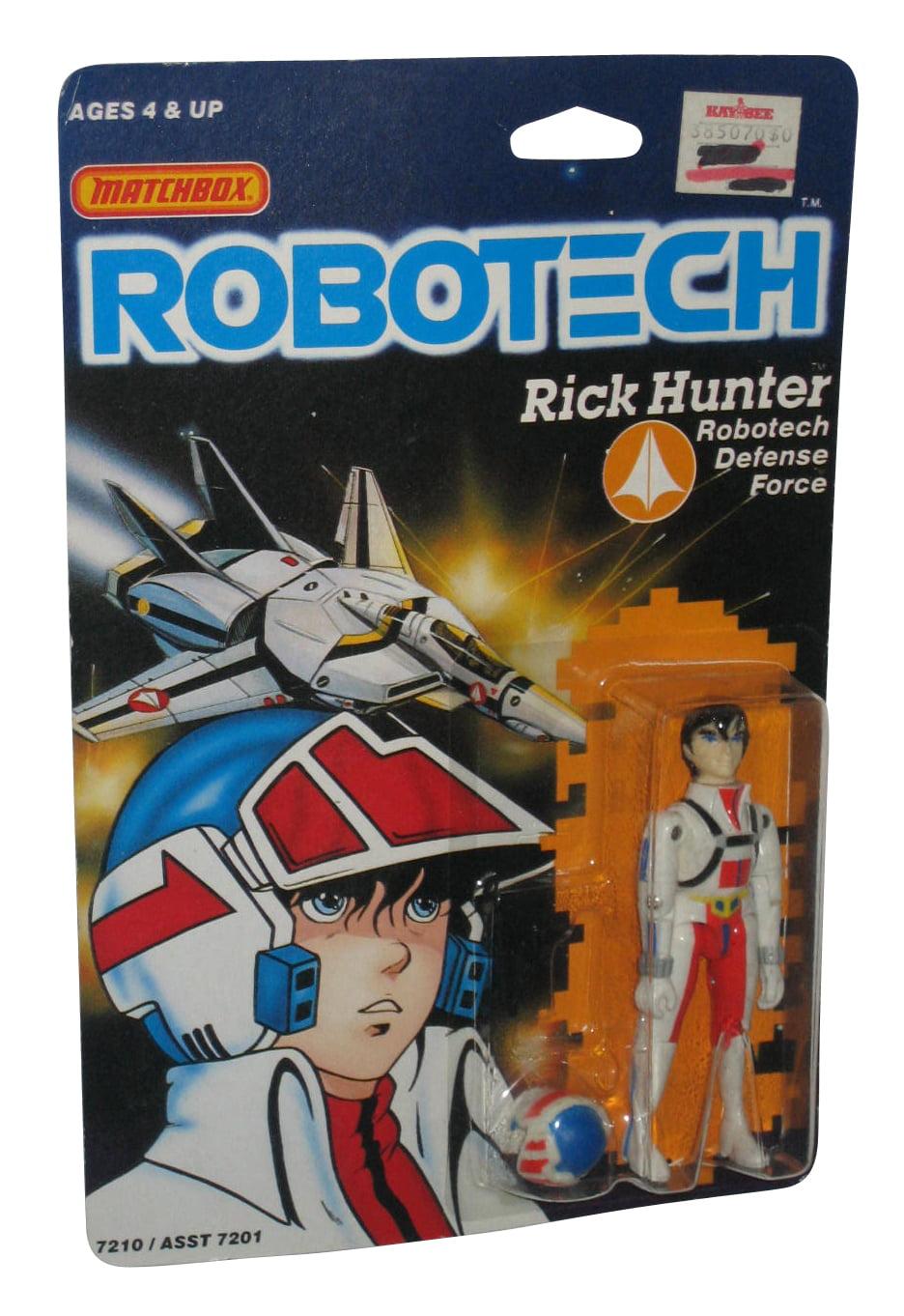 Robotech Rick Hunter Defense Force (1985) Matchbox 3.75 Inch Figure by Matchbox