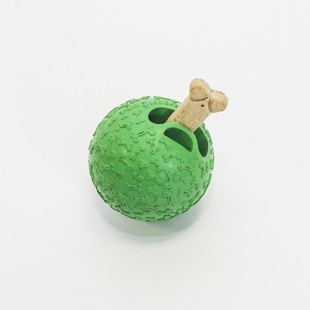 Premier Pet Treat Holding Dog Toy for Large Dogs - Ball With Treat Dispensing Design - Durable Treat and Chew Toy Combo for Long-Lasting Play
