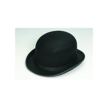 Deluxe Black Permalux Derby Roaring 20 S Bowler Top Hat Adult Costume  Accessory - Walmart.com 6c8b70a1036