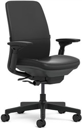 Charmant Steelcase Amia Chair Fully Adjustable Model Leather, Executive Office Chair