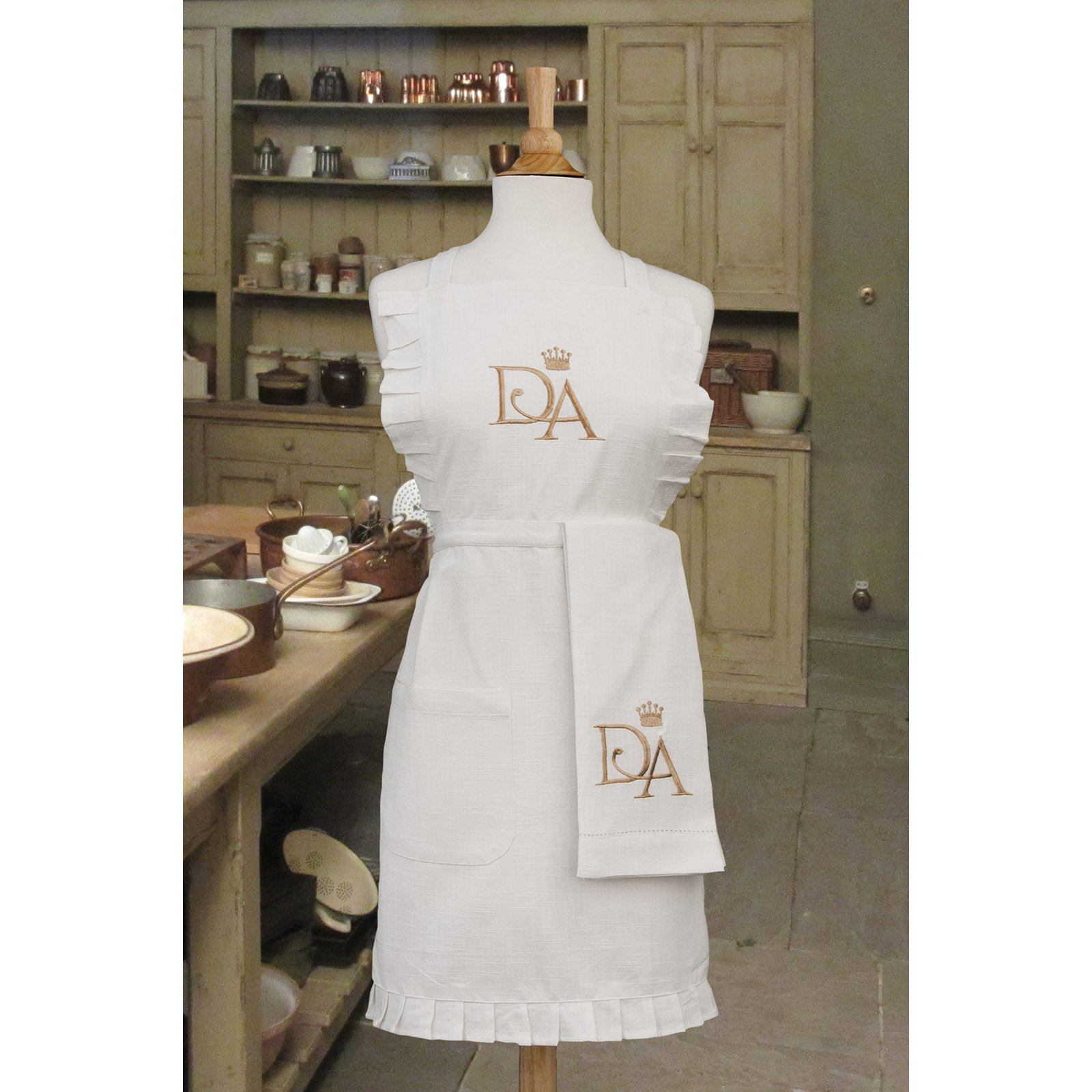 Downton Abbey by Heritage Lace Downton House 27 x 32 in. Apron