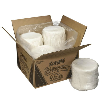 Crayola® Air-Dry Clay, 25 lb. Box, (Clay Lid)