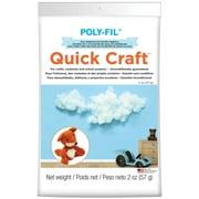 Poly-fil Quickcraft Fiberfill - 2 Oz.