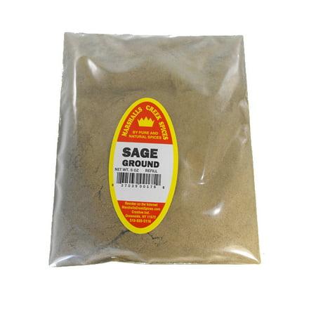 Sage Creek Naturals - Marshalls Creek Spices SAGE GROUND REFILL