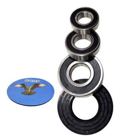 Hqrp Bearing And Seal Kit For Ge Wbvh5200k0ww Wbvh5300k0ww