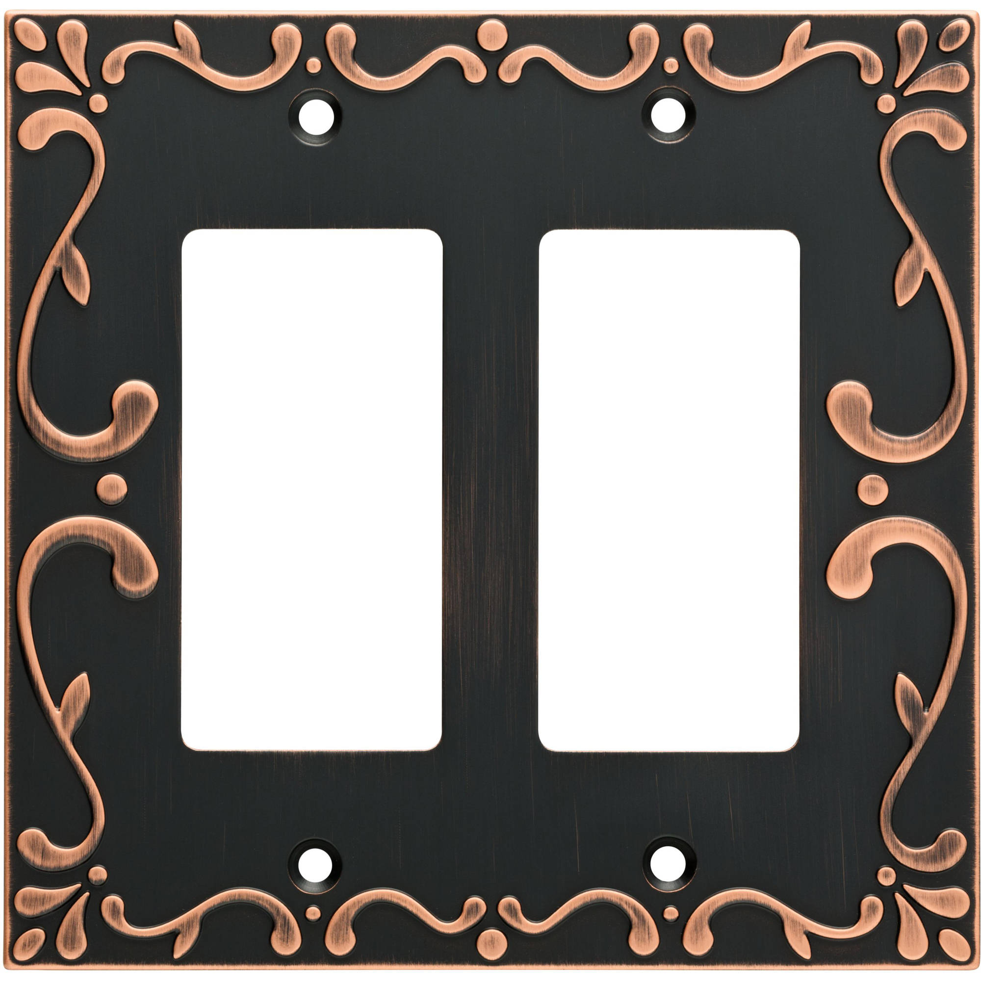 Franklin Brass Classic Lace Double Rocker Wall Plate