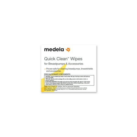 Best Medela Quick Clean Breast Pump and Accessories Wipes - 40 count deal