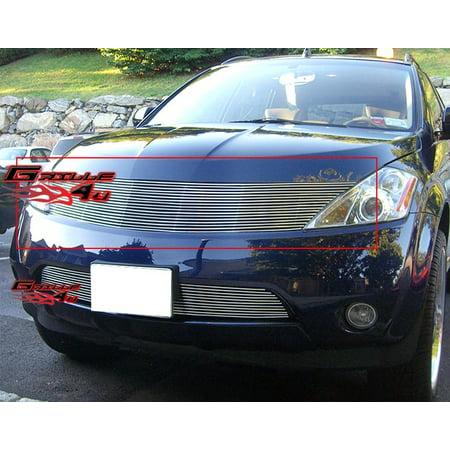 Fits 03-08 Nissan Murano Billet Grille Insert