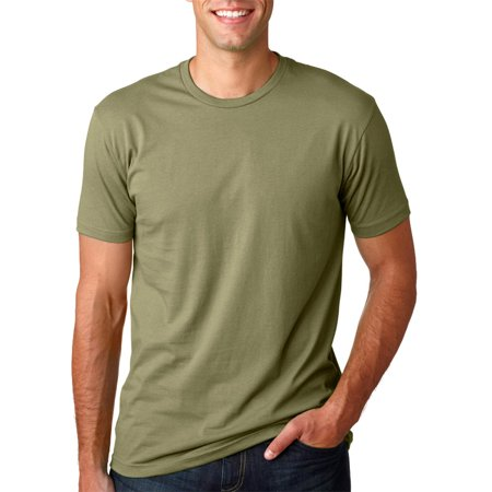 3600 Soft Rib Knit Jersey T-Shirt - Light Olive - X-Large