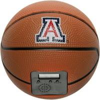 Arizona Wildcats Buzzerbeater Basketball Alarm Clock - No Size