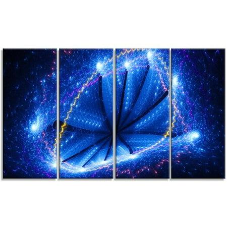Design Art 'Blue Star Clusters' Graphic Art Print Multi-Piece Image on - Cluster Design