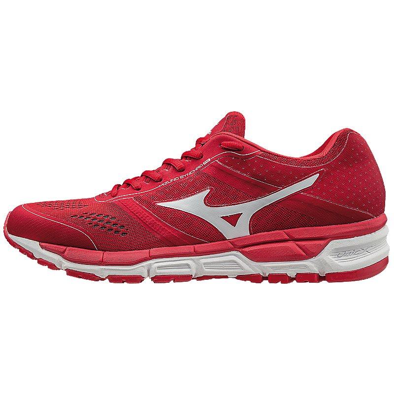 Mizuno Men's Synchro MX Trainer Baseball Shoes (Red/White...