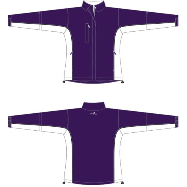 Weather Apparel 58023-035-LG Microfiber Womens Jacket, Large - Purple, White & Black - image 1 de 1