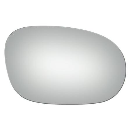 For 2008-15 Dodge Challenger Right Passenger Side Convex Power Door Mirror Glass Power Door Mirror Gloss