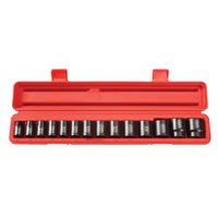 TEKTON 1/2 Inch Drive 6-Point Impact Socket Set, 14-Piece (3/8 - 1-1/4 in.)   4816