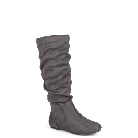 Women's Slouchy Microsuede Boots