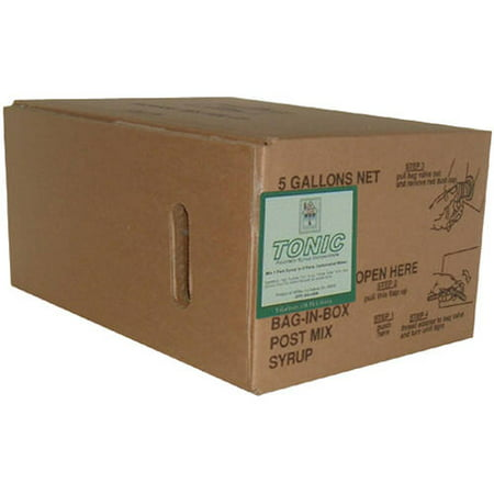 Willtec Tonic Bag In Box Syrup Concentrate, 5 gal ()