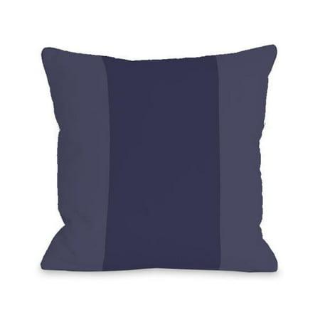 One Bella Casa 74670PL16O 16 x 16 in. Color Block Outdoor Pillow - Midnight Blue - image 1 de 1