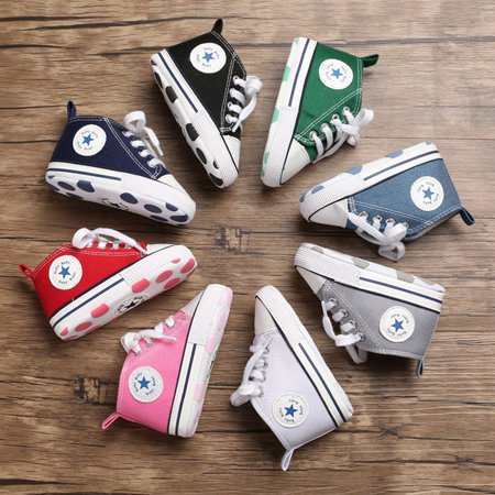 canvas Toddler Newborn Baby Shoes Non-slip Bottom Soled Shoes Keep Warm Comfortable Shoe - image 2 de 6