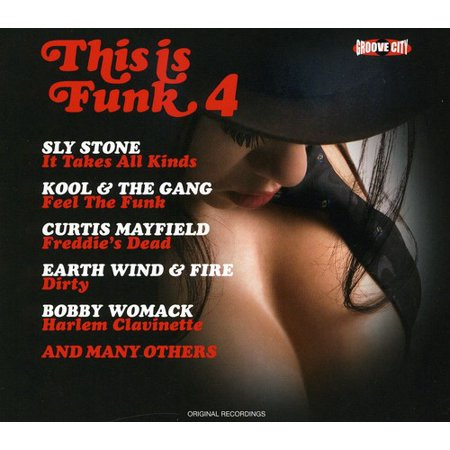 This Is Funk 4 Live / Various (CD) (Closer To Home Grand Funk Railroad Live)