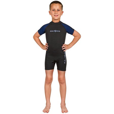 Youth Shorty Wetsuit - Wetsuits Youth Premium Neoprene 2mm Youth's Shorty, Designed to be child's first introduction to a wetsuit...., By NeoSport Ship from US