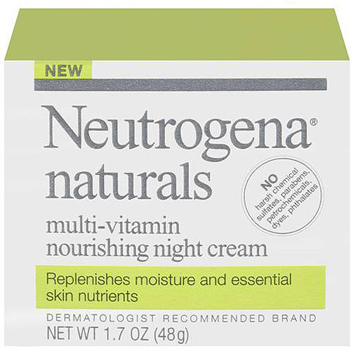 Neutrogena Naturals Multi-Vitamin Cream, 1.7 oz