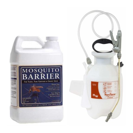 Mosquito Barrier Liquid Mosquito Repellent (1 Gallon) w/Chapin Sprayer (1Gallon)