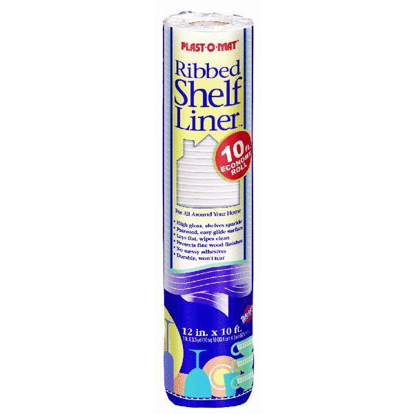 Plast O Mat Ribbed Nonadhesive Shelf Liner Walmart Com