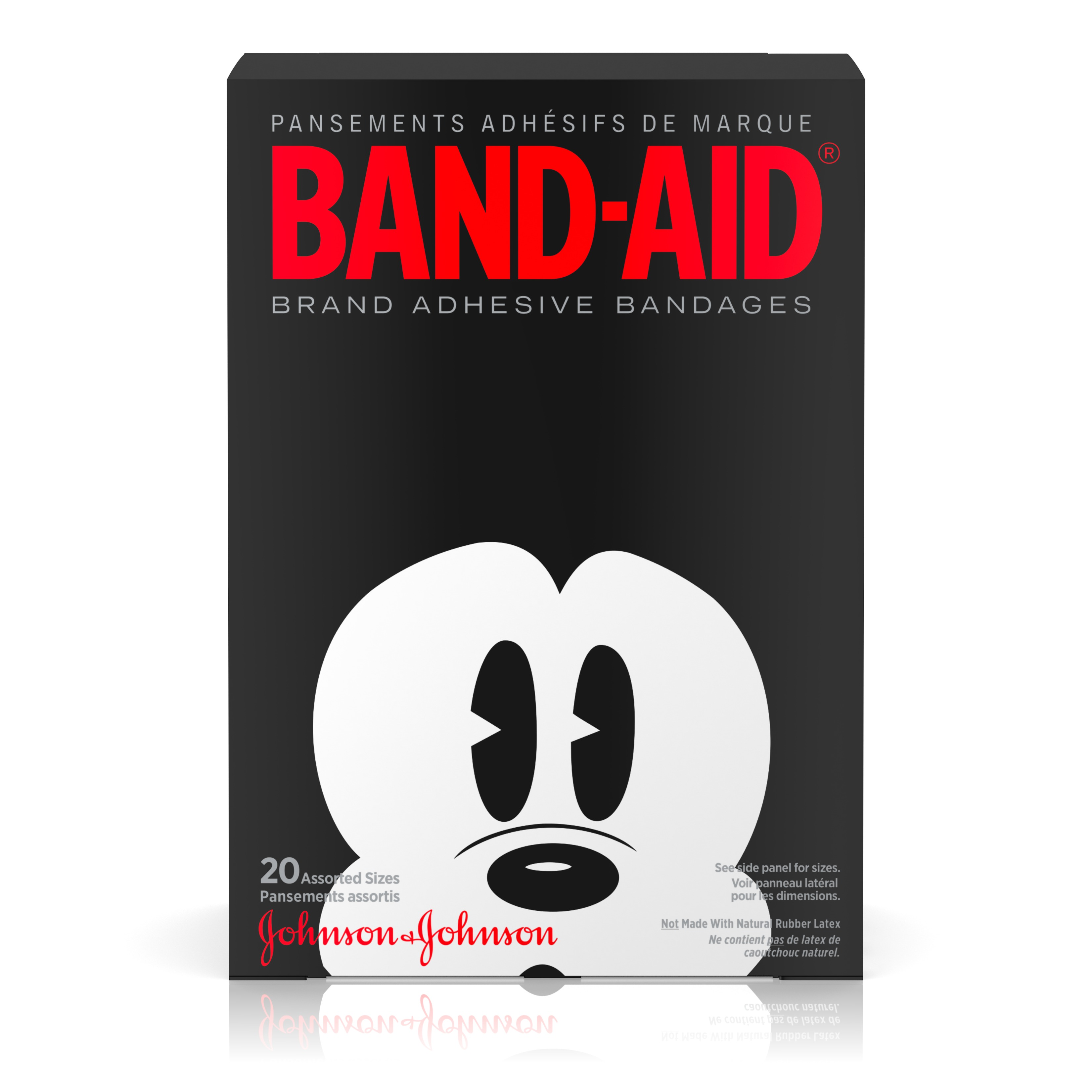 Band-Aid Brand Adhesive Bandages, Mickey Mouse Assorted Sizes 20 ct
