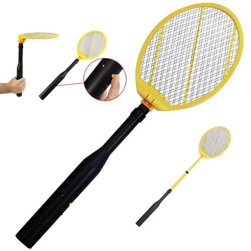 IdeaWorks Telescopic Electronic Bug Zapper Electric Fly Swatter Racket JB6285