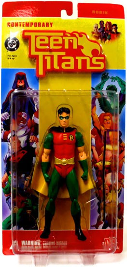 DC Contemporary Teen Titans Series 1 Robin Action Figure [No Packaging] by