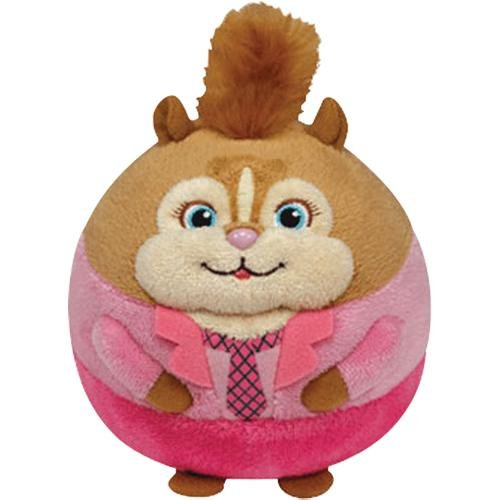 Ty Beanie Ballz Brittany - Chipette Large Multi-Colored