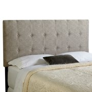 Humble and Haute Humble + Haute Stratton Ash Grey Upholstered Tufted Headboard