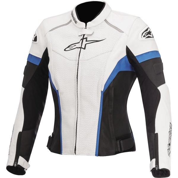 Alpinestars Stella GP Plus R Women's Vented Leather Jacket Motorcycle Jacket