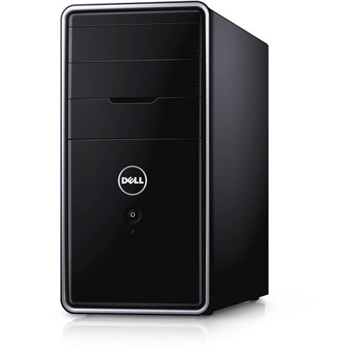 Dell Black Inspiron 3000 Series Desktop