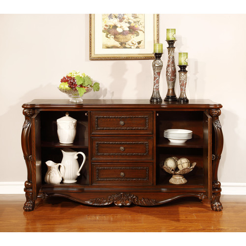 Coaster Benbrook Dining Buffet in Dark Cherry