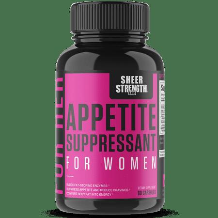 Sheer Appetite Suppressant For Women - Metabolism Booster - 60 Capsules