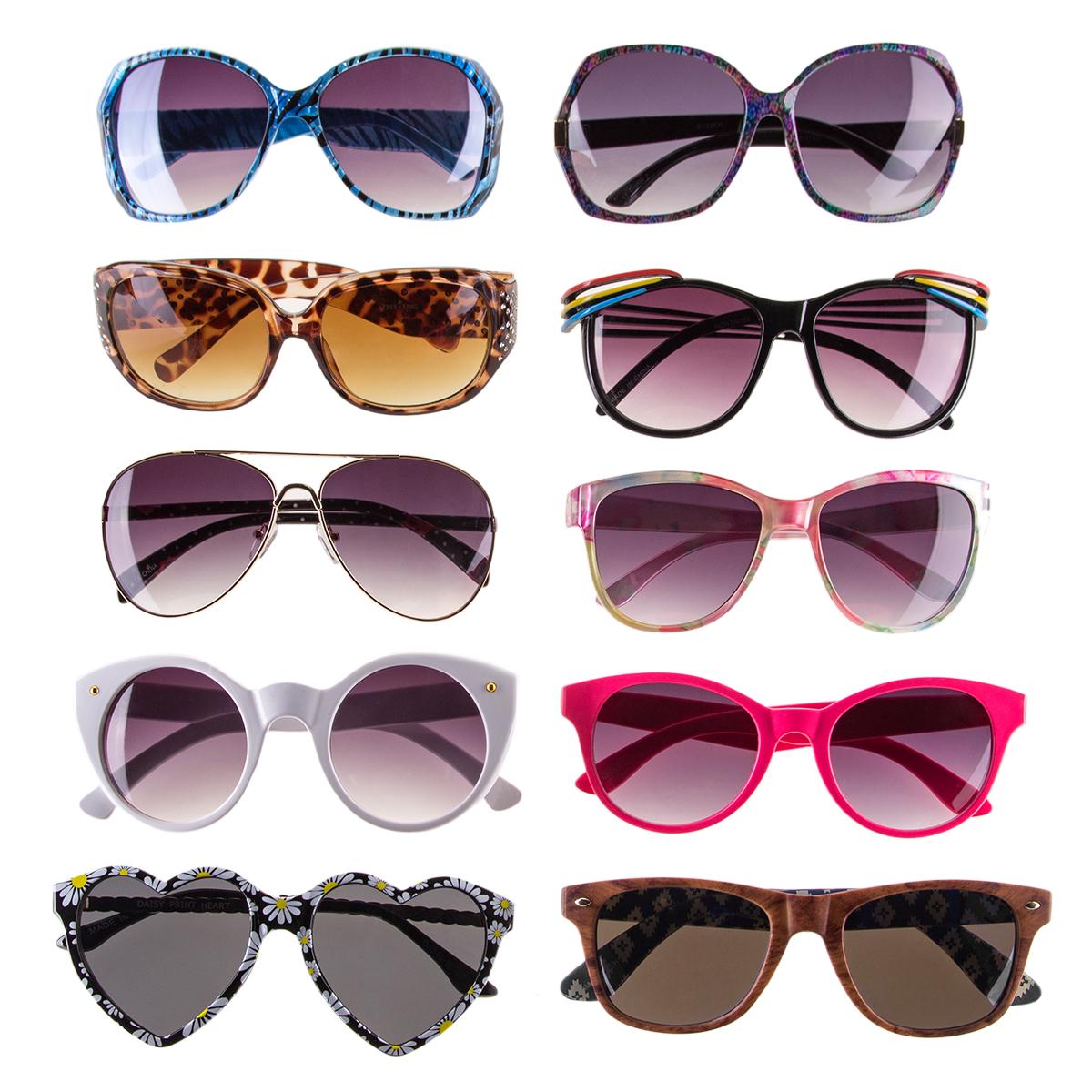 Lot of 6 Pairs Random Pick DG Sunglasses Fashion Designer Shades Combo Set