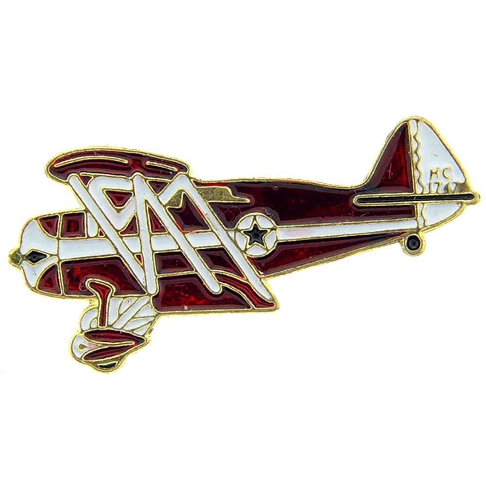 NC 1747 Biplane Pin 1 1/2