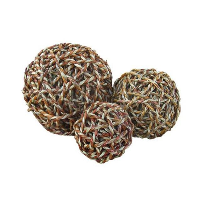Cheung's FP-1992L Large Decorative Ball in Natural Fiber
