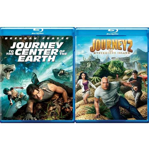Journey To The Center Of The Earth / Journey 2: The Mysterious Island (Blu-ray) (Widescreen)