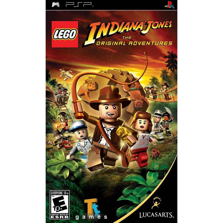 LEGO Indiana Jones-Original Adventures (PSP) - Pre-Owned