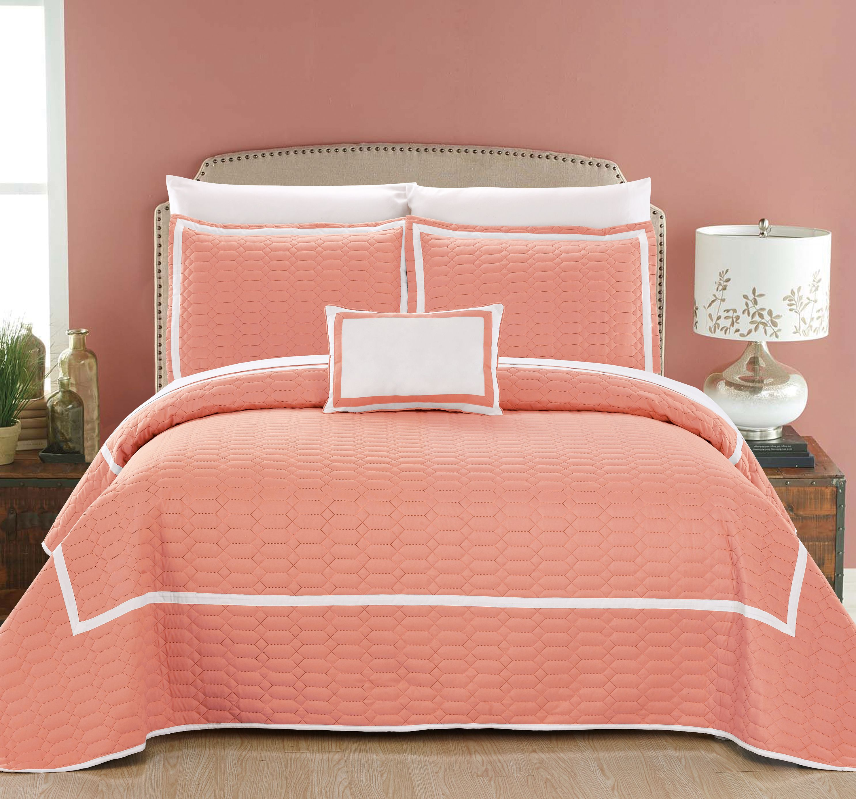 Chic Home Cummington 6 Piece Bed in a Bag Quilt Cover Set