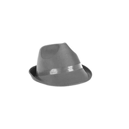 Dress Up Party Costume FEDORA Hat - Orange And Black Costumes
