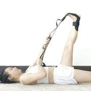 SUPERHOMUSE Yoga Ligament Stretching Belt Foot Drop Stroke Hemiplegia Rehabilitation Strap Plantar Fasciitis Leg Training Foot Ankle Joint Correction Braces With Loops