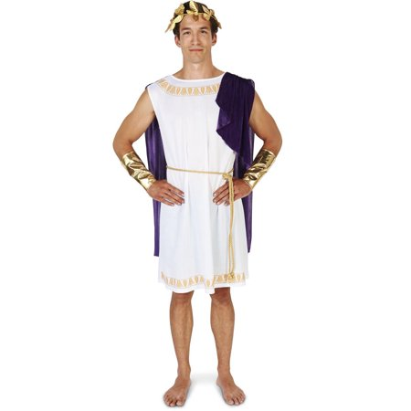 White Toga (Short) Man Adult Costume](Home Made Toga)