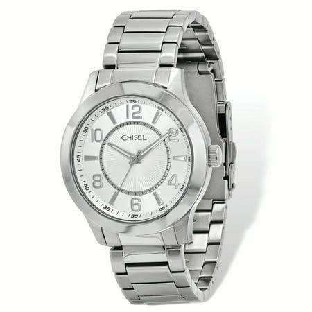 Chisel Stainless Steel Silver Dial Mens Watch - image 1 of 2