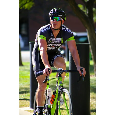 LAMINATED POSTER Sport Man Bicycle Outdoors Bike Race Racing Bike Poster Print 24 x (Used Racing Bikes For Sale In India)