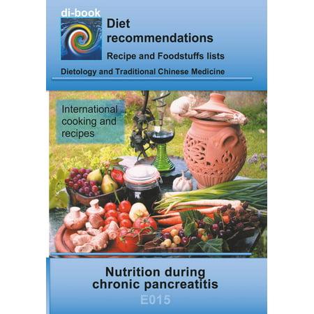 Nutrition during chronic pancreatitis - eBook